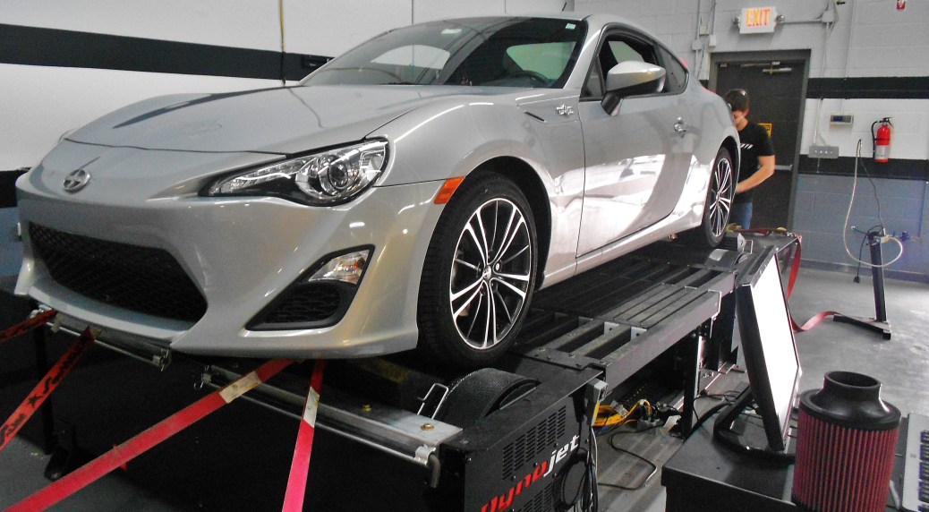 FR-S on Mishimoto dyno