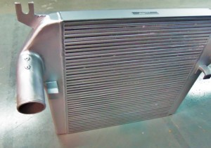 Mishimoto 6.7L Cummins intercooler prototype