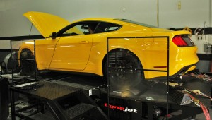 Mishimoto 2015 Ford Mustang EcoBoost on dyno