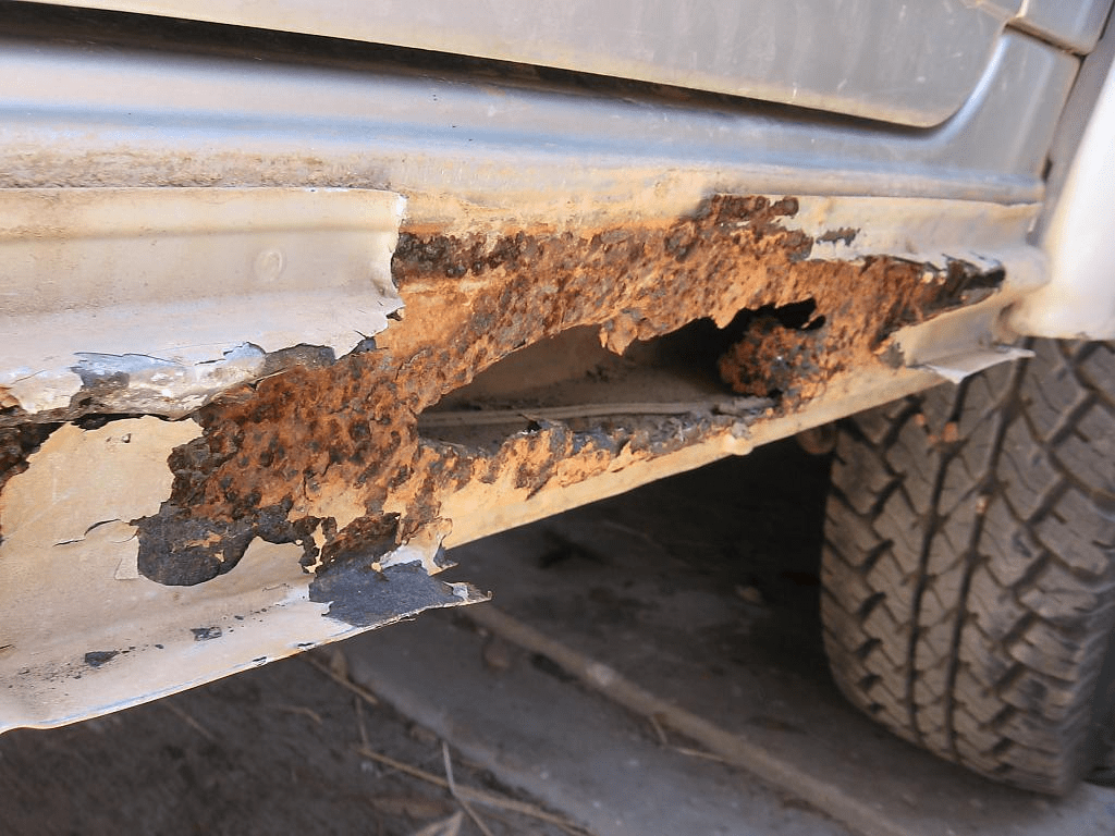 Vehicle rust example
