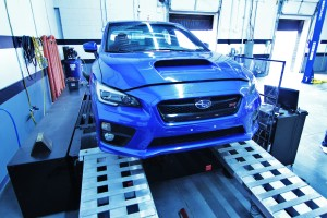 2015 STI on the dynamometer