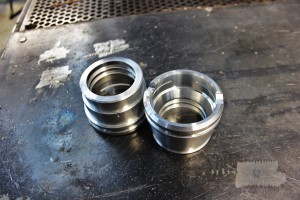 Mishimoto CNC-machined quick-disconnect prototypes