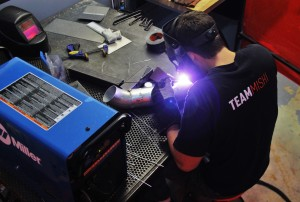 Intake pipe fabrication
