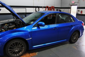 2011 WRX test-fit vehicle