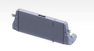 Mishimoto intercooler 3D model