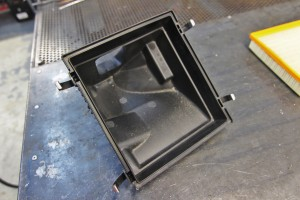 Stock lower airbox