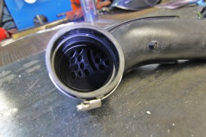 Stock air intake tube resonator