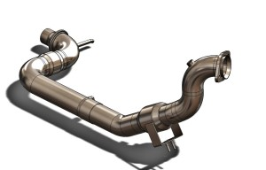 Mishimoto downpipe 3D model