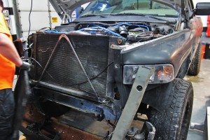 12-valve intercooler removal