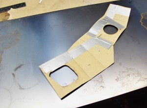 Airbox cardboard template