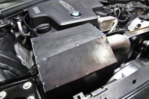 Fabricated airbox installed
