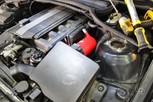Mishimoto silicone induction hose kit installed