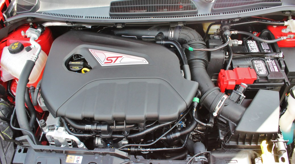 Stock Ford Fiesta ST intake