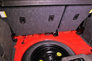 Fiesta ST mounting points for rear strut brace