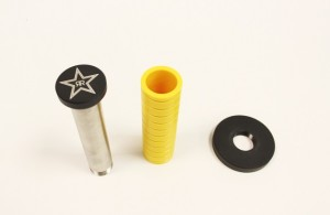 Mishimoto Weighted Shift Knob disassembled