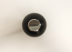 Prototype teardrop shift knob