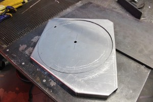 Ford Fiesta radiator fan shroud fabrication