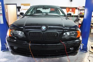 BMW E46 fan shroud data collection