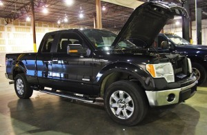 F150 Intercooler development test vehicle