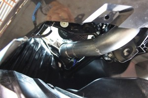 2015 STI front mount intercooler piping fabrication