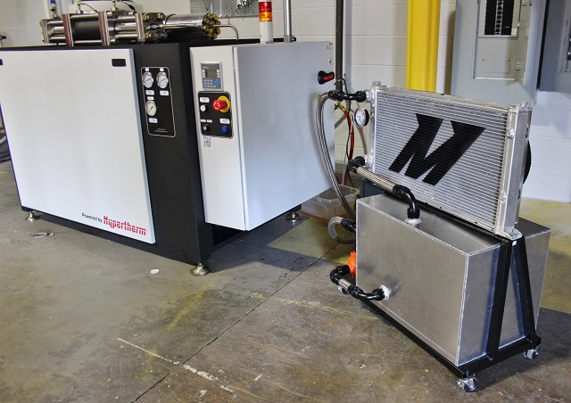 Completed Mishimoto waterjet cooler