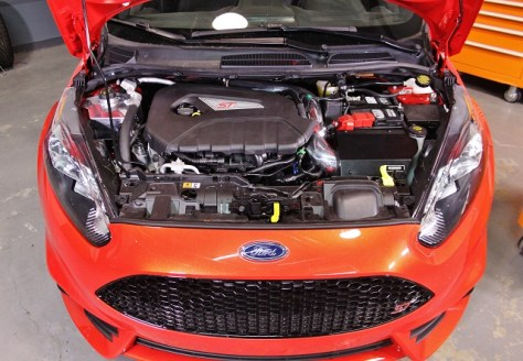 Ford Fiesta ST Intake fully installed