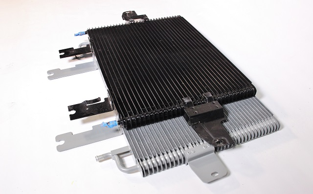 Ford 6.0 transmission cooler size comparison