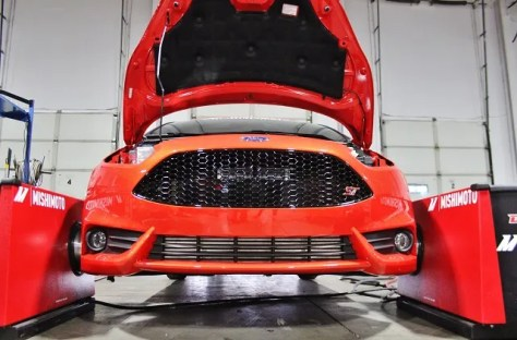 Testing Fiesta ST performance parts