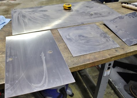 Fluid tank fabrication