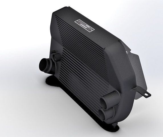 Mishimoto Ford F-150 EcoBoost intercooler prototype
