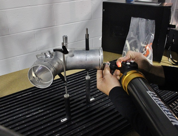 Ford F-150 EcoBoost intercooler pipe fabrication