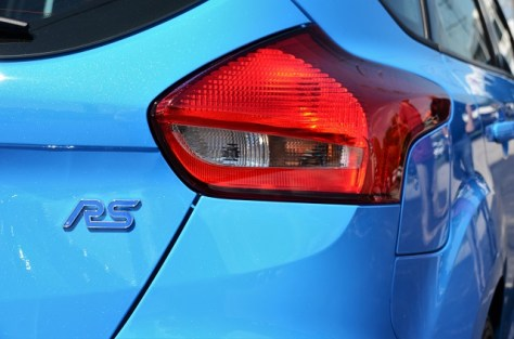 Mishimoto's brand-new Focus RS in Nitrous Blue