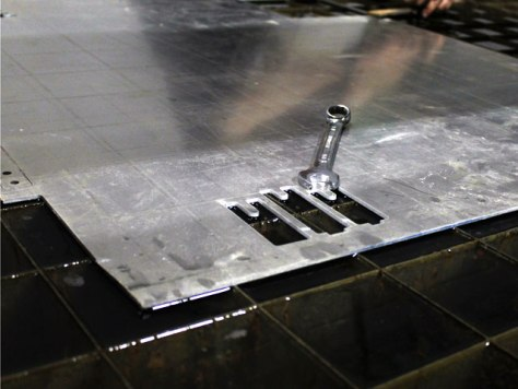 The versatility of a water jet is almost unbeatable