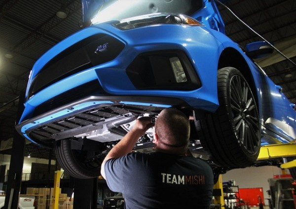 Focus RS catch can testing
