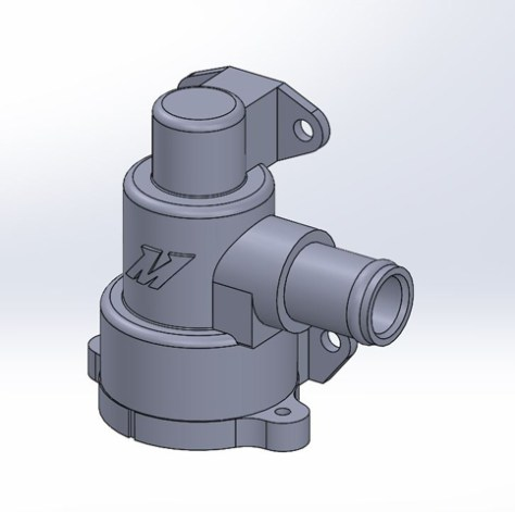 Custom Engineered Mishimoto Thermostat and Housing
