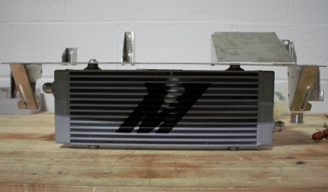 Focus RS Oil Cooler prototype