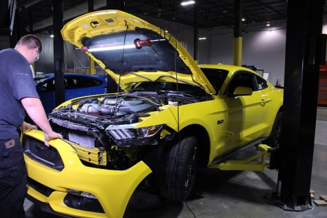 Mustang GT donor vehicle