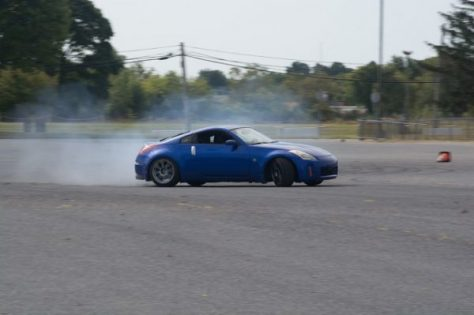 This 350Z was one of the cleanest looking cars there