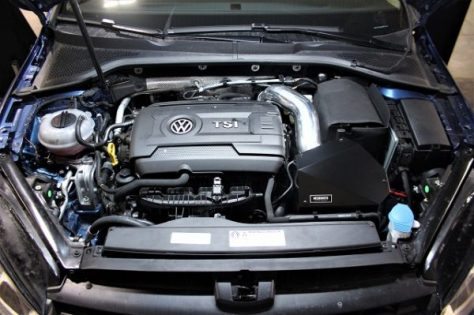 Our 2015 Volkswagen Golf about to go under an oily scalpel!