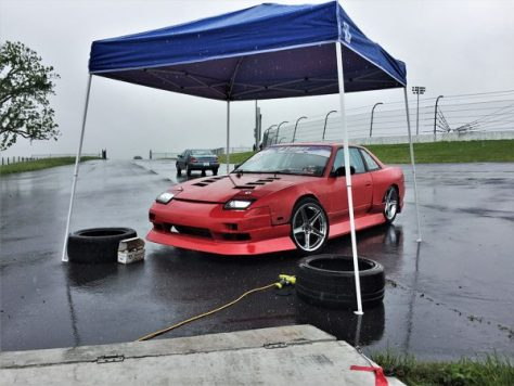Here is my buddy's 2JZGTE powered S13
