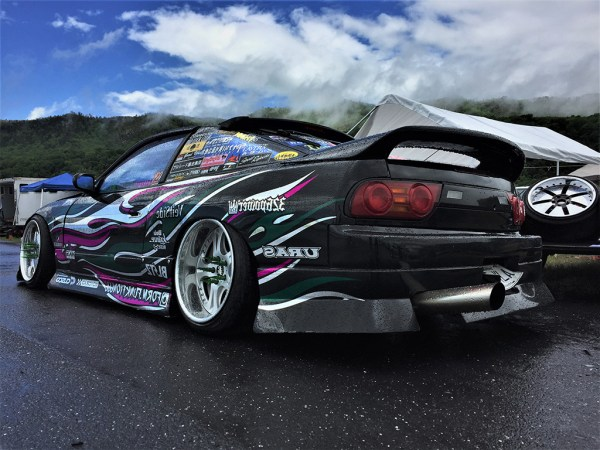 Form Over Function – the name of this driver's Instagram handle and the theme for the entire weekend!