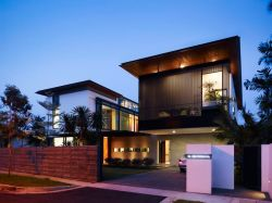Built by Park _ Associates in Singapore_ Singapore with surface 749.0. Images by Derek Swalwell. The house was pro