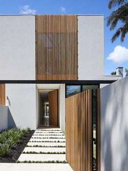 Contemporary Australian Exteriors _ Concrete Conceal House by Tecture Design _ est living