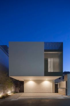 House in Yutenji_ Japan by Hironori Negoro Architect & Associates.