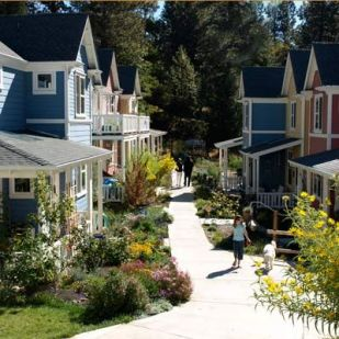 Nevada City Cohousing _ Nevada City_ California. Our community is built on an historical site_ the world's first h
