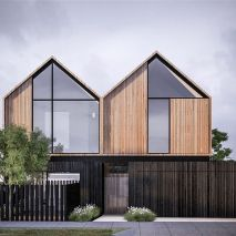 New _auhaus townhouse project in Barwon Heads for _ashleycrowebuilders