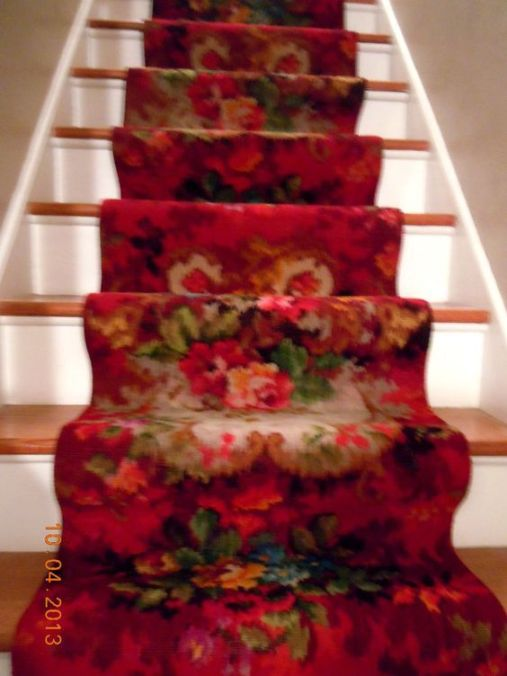Best images_ photos and pictures about red stair carpet ideas _staircarpetideas _redstaircarpet R (12)