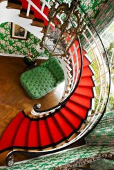Best images_ photos and pictures about red stair carpet ideas _staircarpetideas _redstaircarpet R (13)