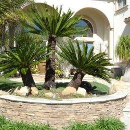 √ Low Maintenance Mediterranean Front Yard Landscaping 2019 _frontyardlandscaping _landscapingideas
