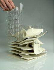 2012 Fall_ Yale School of Architecture_ Desgin Studio 1_16_ Scale Model by KJ Lee